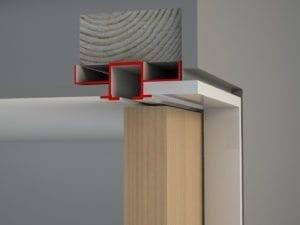 Shadowline, Bulkhead, Timber Door (side view)