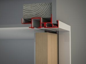 Slimline Architrave Bulkhead Timber (V)