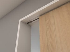 Timber, Slimline Architrave (white), Bulkhead