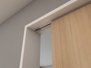Timber, Slimline architrave (white)